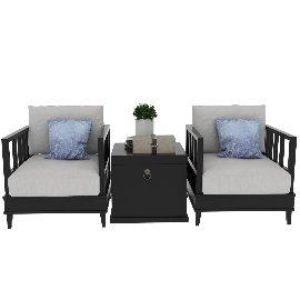 中式沙发组