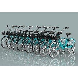 自行车共享单车C4D模型