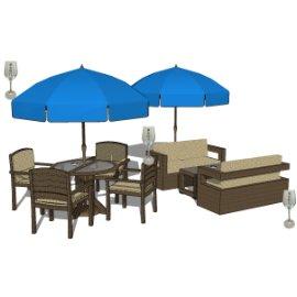 景观室外座椅