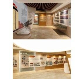 企业室内展厅文化墙设计