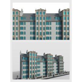 公寓写字楼模型