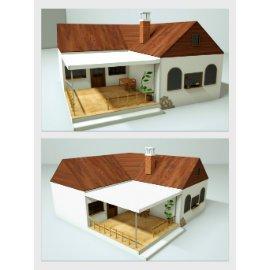 精致别墅模型设计