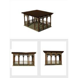中国风凉亭模型设计