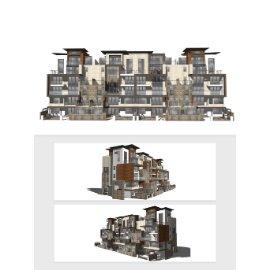 居民楼模型设计