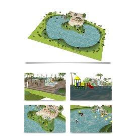 公园风景区模型设计