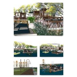 风景区模型设计