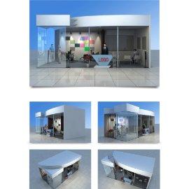 科技展厅展会模型