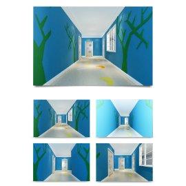 幼儿园走廊过道装修设计