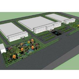 花园厂区广场景观规划