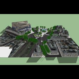 欧式公园整体规划