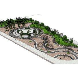 广场公园景观