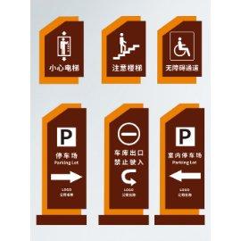 停车场指引牌