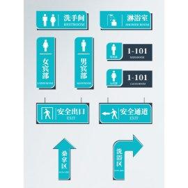 洗浴中心导视系统