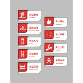 红色警示禁止牌