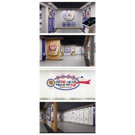 警局警队文化墙展厅
