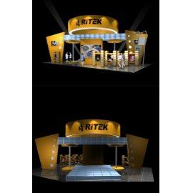 黄色科技展厅临展