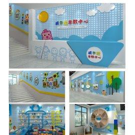 幼儿园早教中心文化墙展馆