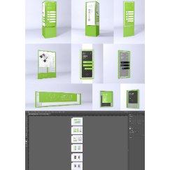绿色时尚导视设计